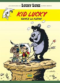 Kid Lucky - Suivez la flèche, d'après Morris