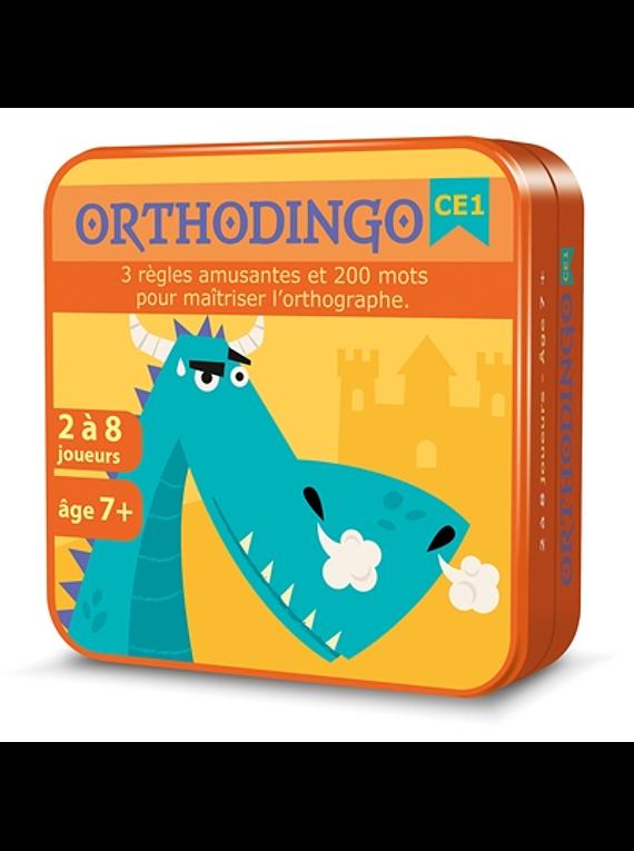 Orthodingo, CE1 : 3 règles amusantes et 200 mots pour maîtriser l'orthographe