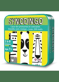 Synodingo CE1 CE2 : 5 jeux de synonymes et contraires