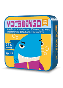 Vocadingo CM1 CM2 : Jeu de vocabulaire