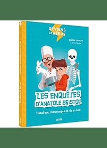 Les enquêtes d'Anatole Bristol - fantôme, mensonges et riz au lait, de Sophie Laroche