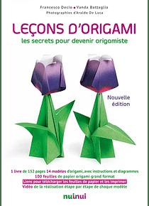 Leçons d'origami : les secrets pour devenir origamiste - Coffret
