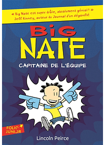 Big Nate - Capitaine de l'équipe, de Lincoln Peirce