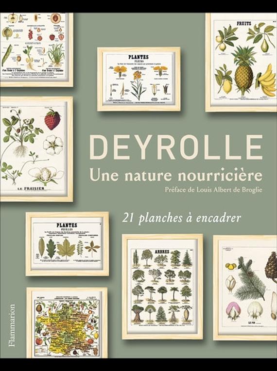 Deyrolle - Une nature nourricière - 21 planches à encadrer