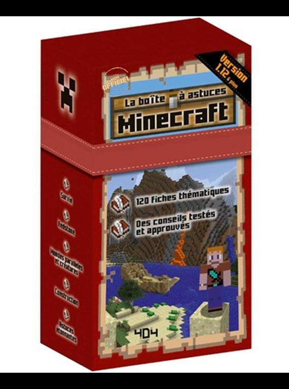 Minecraft - La boîte à astuces, de Stéphane Pilet