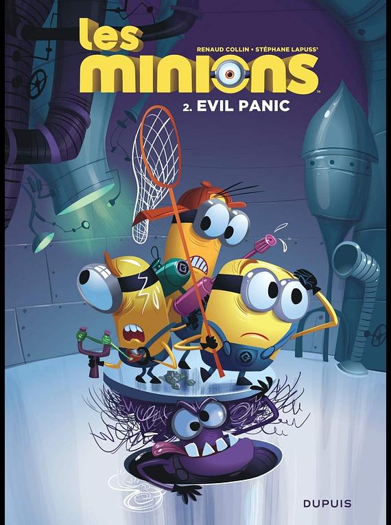 Les Minions - Evil panic, de Lapuss' et Collin