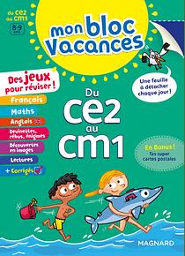Bloc vacances du CE2 au CM1 - 8/9 ans