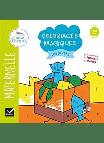 Coloriages magiques - Maternelle Petite Section - 3/4 ans : Les jouets