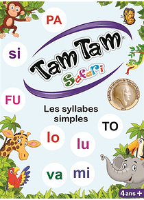 Tam tam Safari - Jeu d'initiation à la lecture