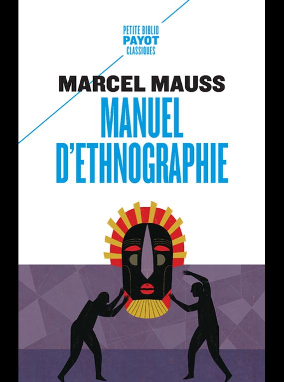 Manuel d'ethnographie, de Marcel Mauss