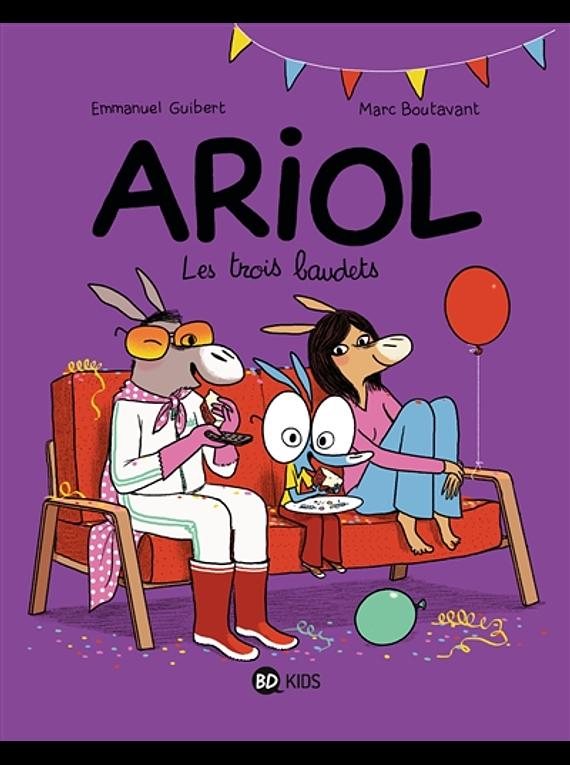 Ariol - Les trois baudets, de Emmanuel Guibert et Marc Boutavant