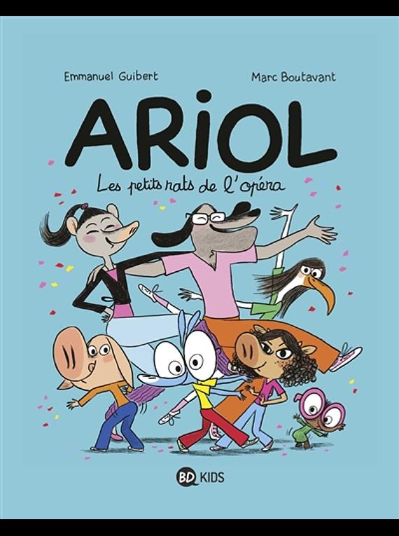 Ariol - Les petits rats de l'Opéra, de Emmanuel Guibert et Marc Boutavant