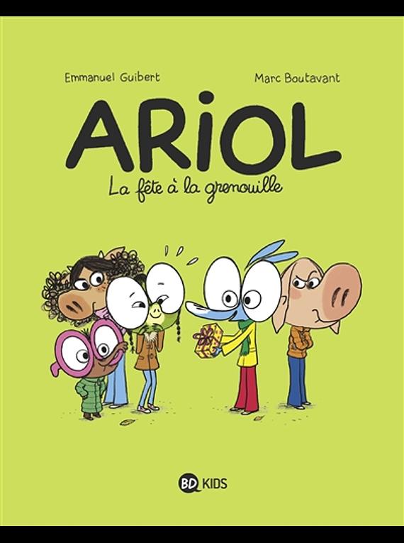 Ariol - La fête à la grenouille, de Emmanuel Guibert et Marc Boutavant