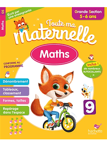 Toute ma maternelle - Grande Section - 5/6 ans : Maths