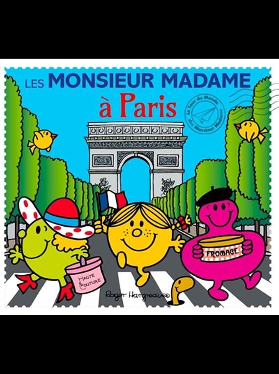 Les Monsieur Madame à Paris, de Adam Hargreaves