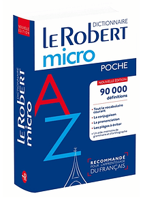 Le Robert micro poche : dictionnaire d'apprentissage du français