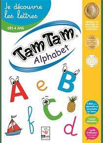 Tam tam alphabet : je découvre les lettres
