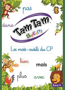 Tam tam safari : les mots-outils du CP