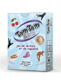 Tam Tam Safari : jeu de lecture et de rapidité CE1  niveau 1