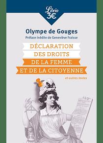 Déclaration des droits de la femme et de la citoyenne, de Olympe de Gouges