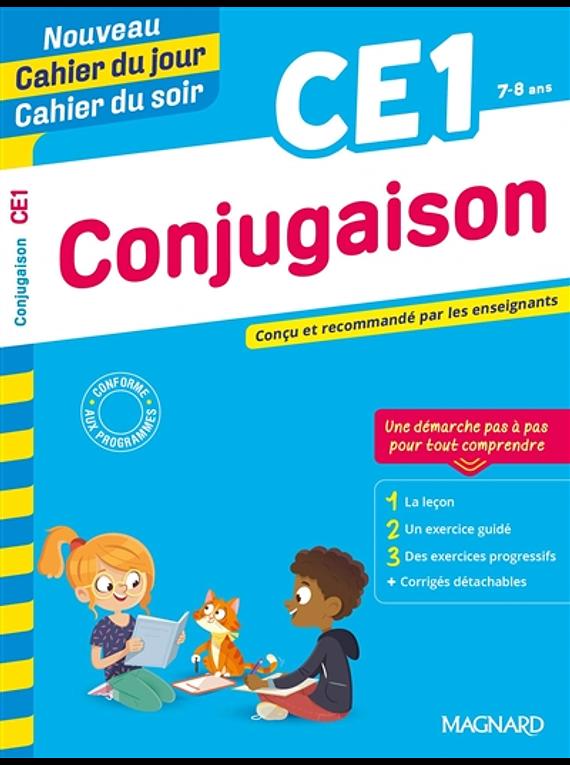 Cahier du jour Cahier du soir - CE1 - 7/8 ans : Conjugaison