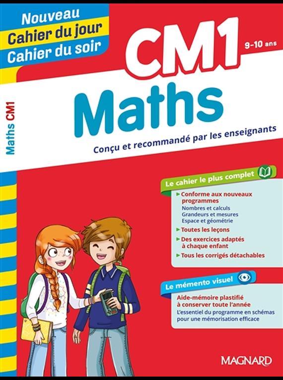 Cahier du jour Cahier du soir - CM1 - 9/10 ans : Maths