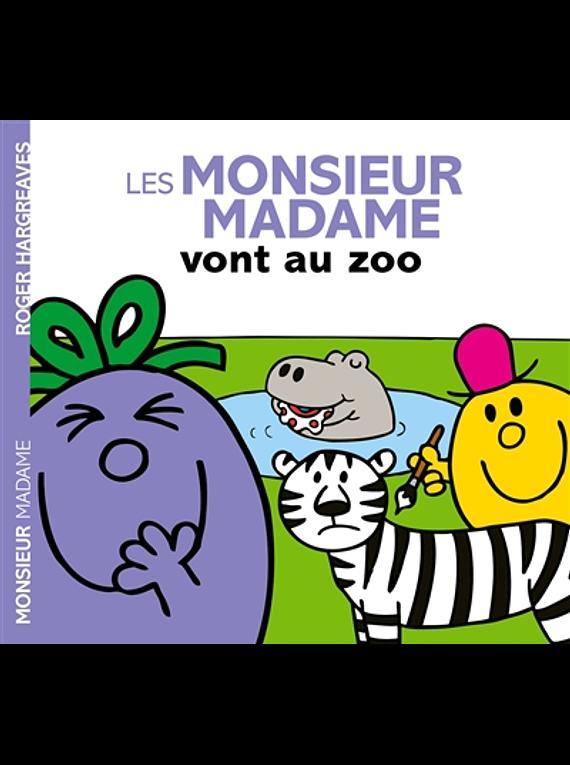 Les Monsieur Madame vont au zoo, de Adam Hargreaves