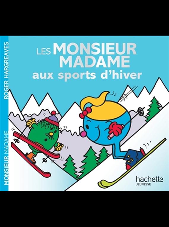 Les Monsieur Madame aux sports d'hiver, de Adam Hargreaves