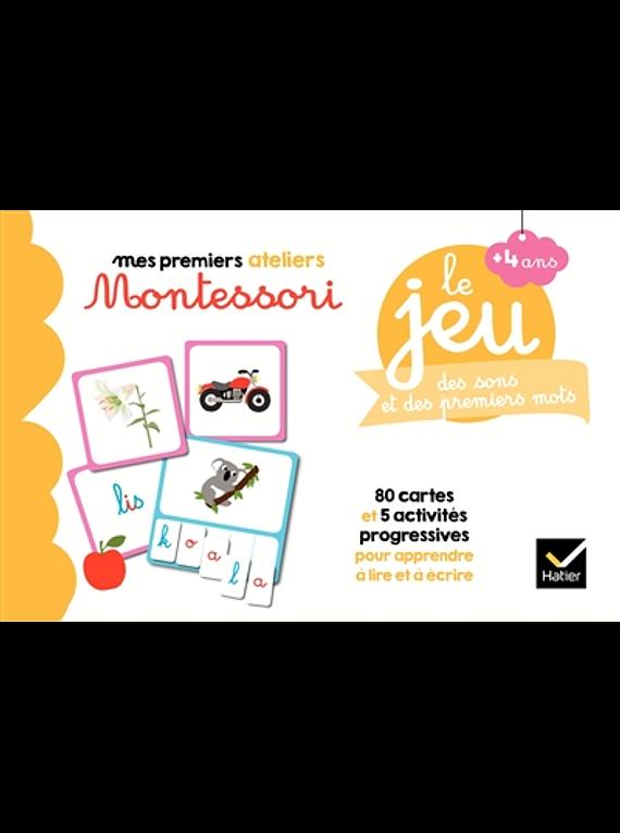 Mes premiers ateliers Montessori - Le jeu des sons et des premiers mots