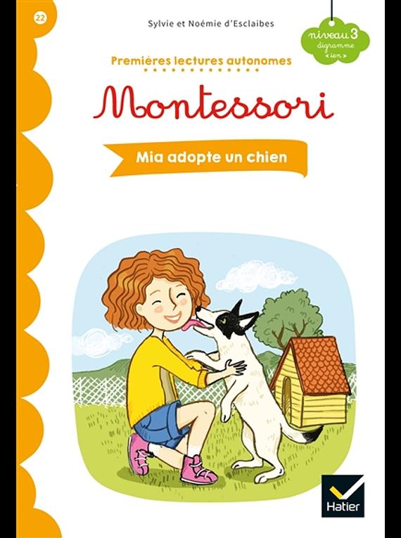 Premières lectures autonomes Montessori - Mia adopte un chien
