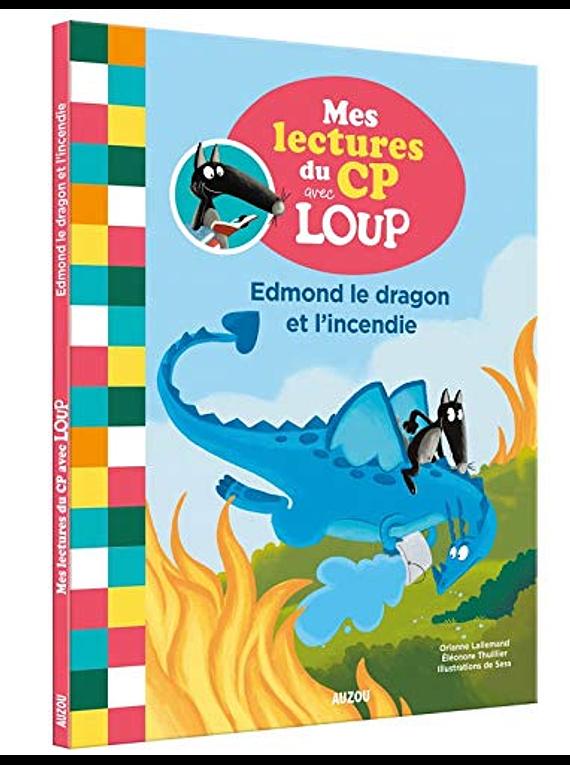 Edmond le dragon et l'incendie, de Orianne Lallemand et Eléonore Thuillier