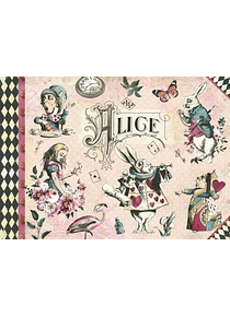 Cahier illustré Alice