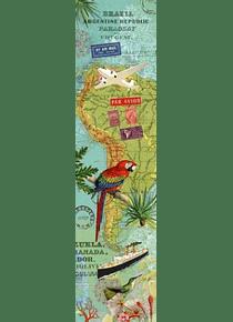 Marque-page Amérique du sud