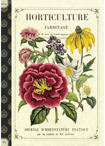 Cahier imagier horticulture