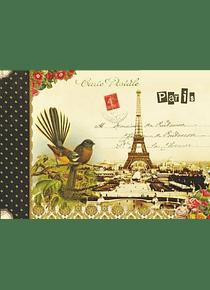 Cahier illustré Paris