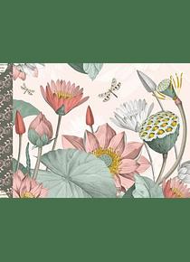 Cahier illustré Fleurs