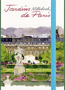 Jardins de Paris : notebook, de Fabrice Moireau