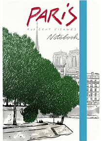 Paris : notebook, de Damien Chavanat