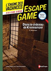 L'énigme des vacances - de la 5e à la 4e, 12-13 ans - Dans le château de Krennamzer