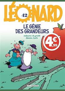 Léonard - Le génie des grandeurs , de De Groot et Turk