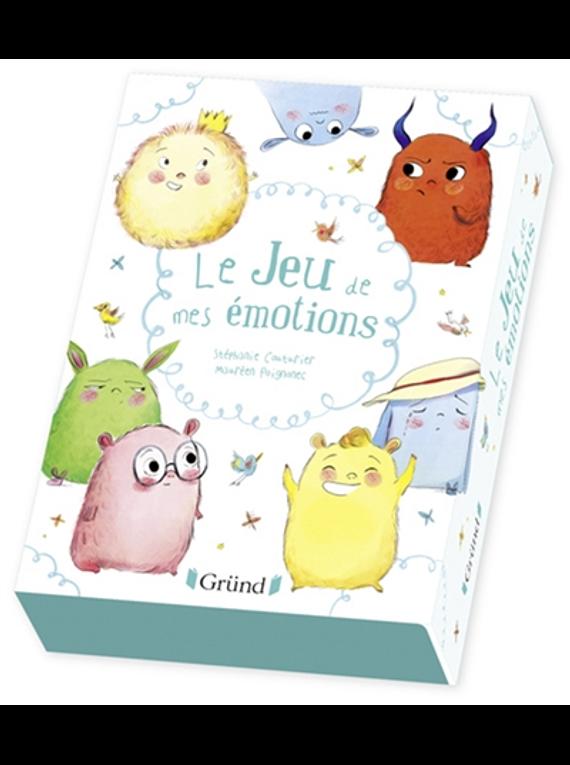 Le jeu de mes émotions, de Stéphanie Couturier et Maureen Poignonec