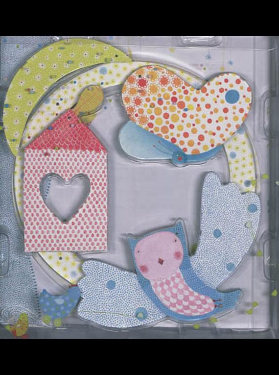 Mon bébé : album de naissance, illustré par Élodie Nouhen