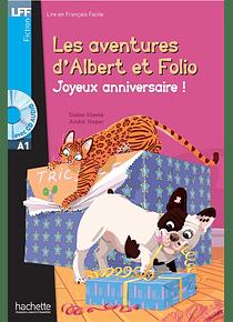 Les aventures d'Albert et Folio - Joyeux anniversaire ! de A. Treper et D. Eberlé - Niveau A1