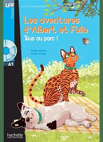 Les aventures d'Albert et Folio - Tous au parc ! de A. Treper et D. Eberlé - Niveau A1