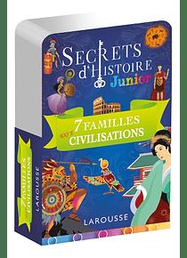 Secrets d'histoire Junior - Jeu des 7 familles 100 % civilisations
