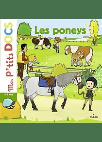 Les poneys, de Stéphanie Ledu et Hélène Convert