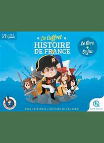 Le coffret Histoire de France : Le livre + Le jeu