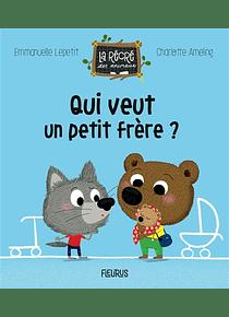 Qui veut un petit frère ? de Emmanuelle Lepetit et Charlotte Ameling