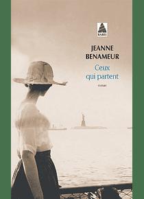 Ceux qui partent, de Jeanne Benameur