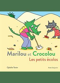 Marilou et Crocolou - Les petits écolos, de Ophélie Texier